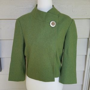 Lilly Pulitzer Jackets & Coats - Lilly Pulitzer wool blend crop swing jacket